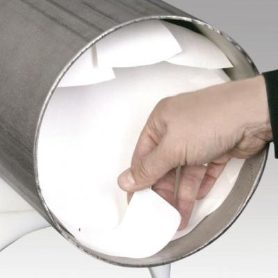 Adhesif soluble inertage