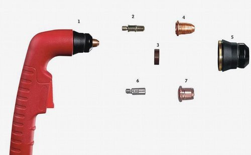 Galagar plasma torch parts s45