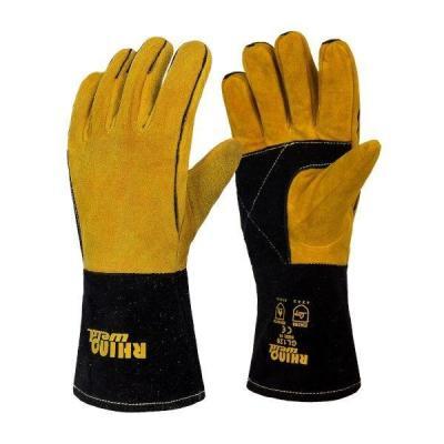 Rhino weld gants mig soudage croute cuir curved xl